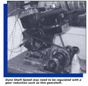 If you remember from last month, a dyno measures engine output by comparing it to a known, or measurable resistance, called the load.