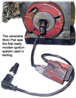 timing is everything basic kart ignition explained article by rh foxvalleykart com Yamaha KT100 TCI Yamaha Cafe Racer